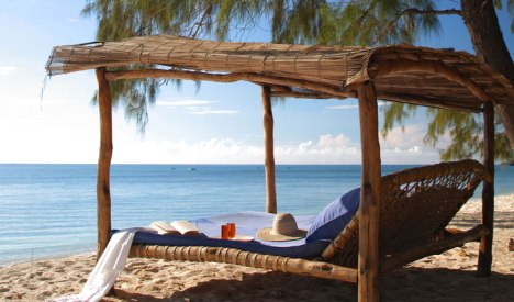 Kinondo-beach-lounger